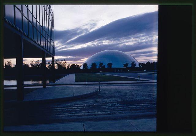 General Motors Technical Center, Warren, Michigan, 1945; 1946-56. Dome