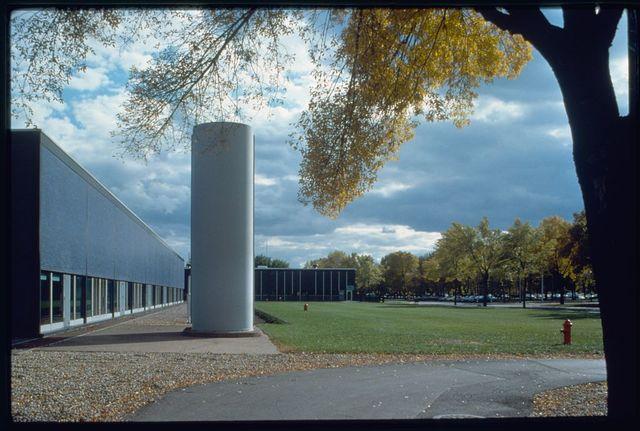 General Motors Technical Center, Warren, Michigan, 1945; 1946-56. Dynamometer Building