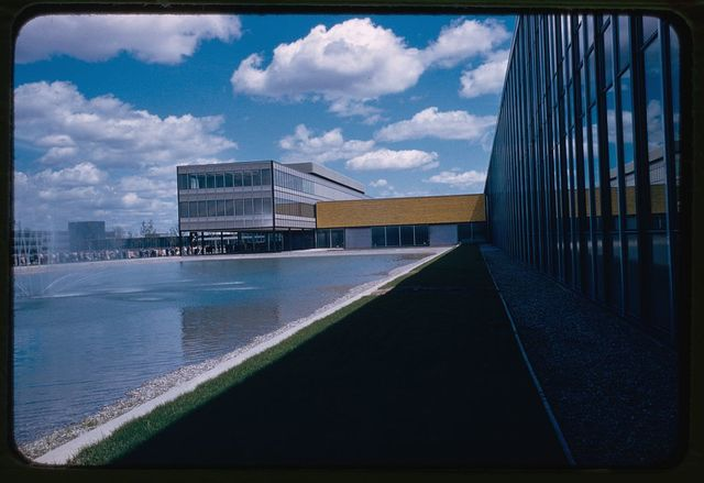 General Motors Technical Center, Warren, Michigan, 1945; 1946-56. Exterior