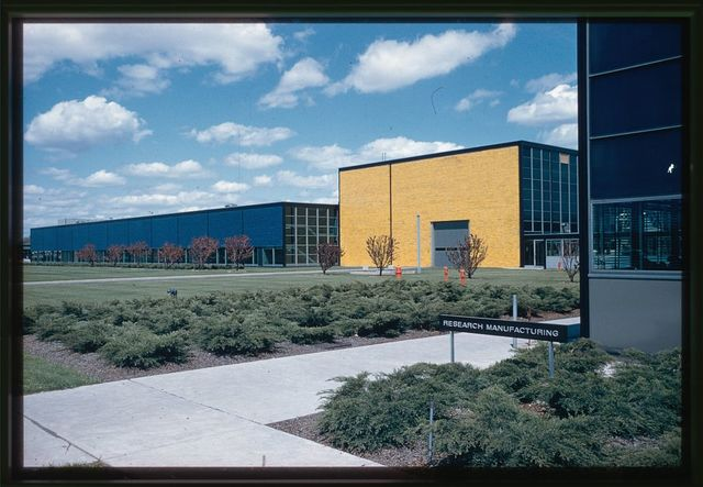 General Motors Technical Center, Warren, Michigan, 1945; 1946-56. Research Group