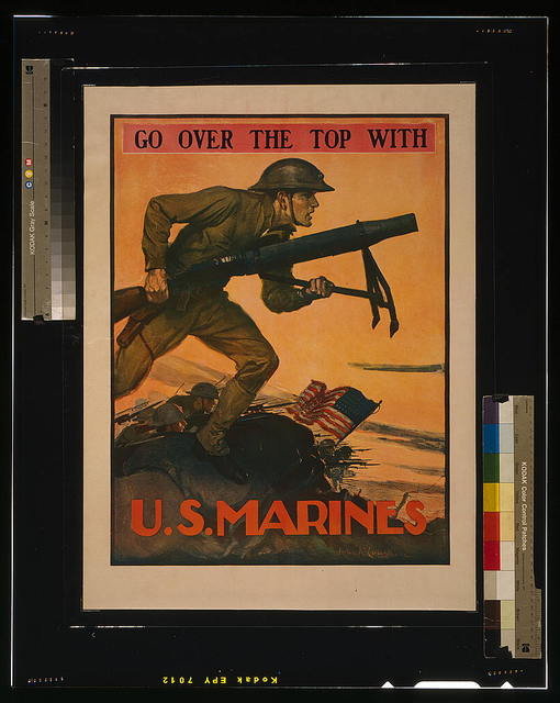 Go over the top with U.S. Marines / John A. Coughlin.