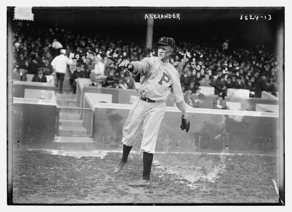 Grover Cleveland Alexander, Philadelphia NL (baseball)