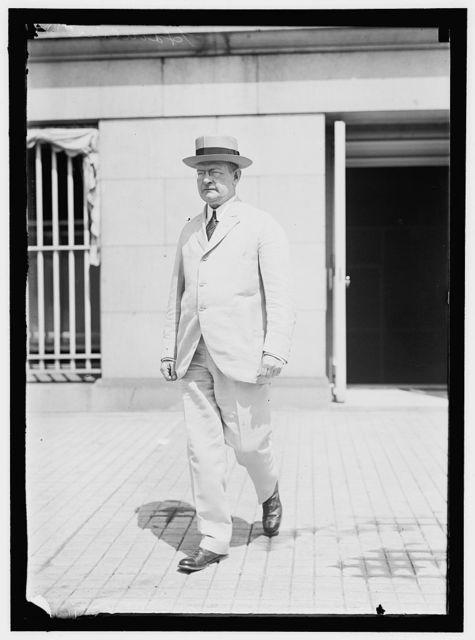 HAMLIN, CHARLES S., ASSISTANT SECRETARY OF THE TREASURY, 1913-