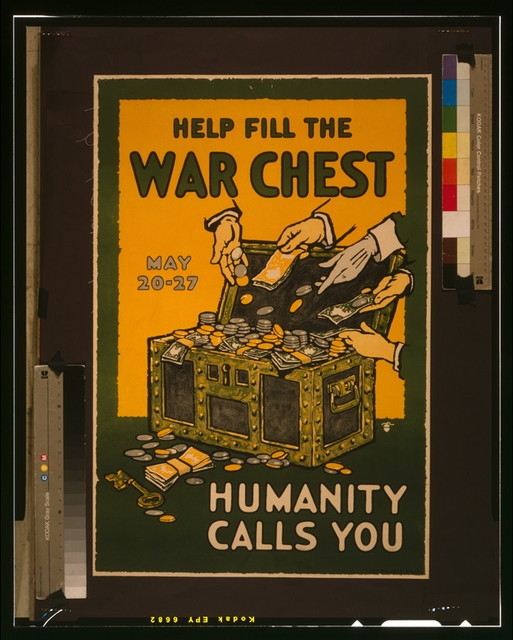 Help fill the war chest Humanity calls you, May 20-27 / / Ketterlinus, Phila.