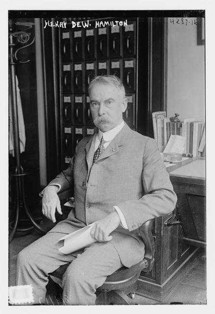 Henry Dew. Hamilton
