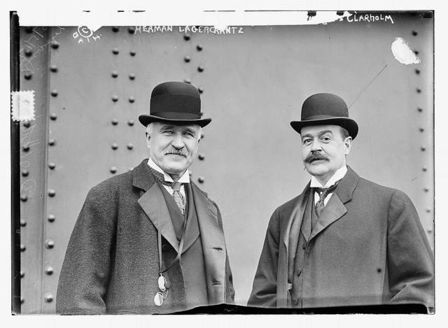 Herman de Lagrecrantz, 1917 and Magnus Clarholm