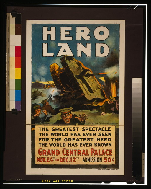 Hero land The greatest spectacle the world has ever seen for the greatest need the world has ever known / / J. Carl Mueller.