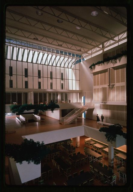 Hill College House (originally Hill Hall Women's Dormitories), University of Pennsylvania, Philadelphia, 1957-60). Model