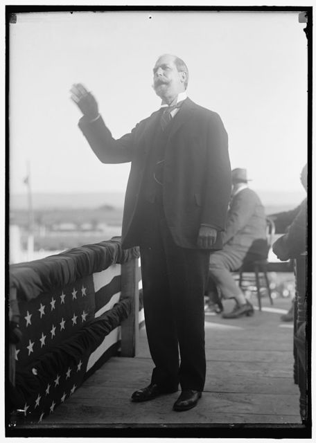 HUGHES, CHARLES EVANS, GOVERNOR OF NEW YORK, 1907-1910; ASSOCIATE JUSTICE OF SUPREME COURT, 1910-1916; CHIEF JUSTICE, 1930-