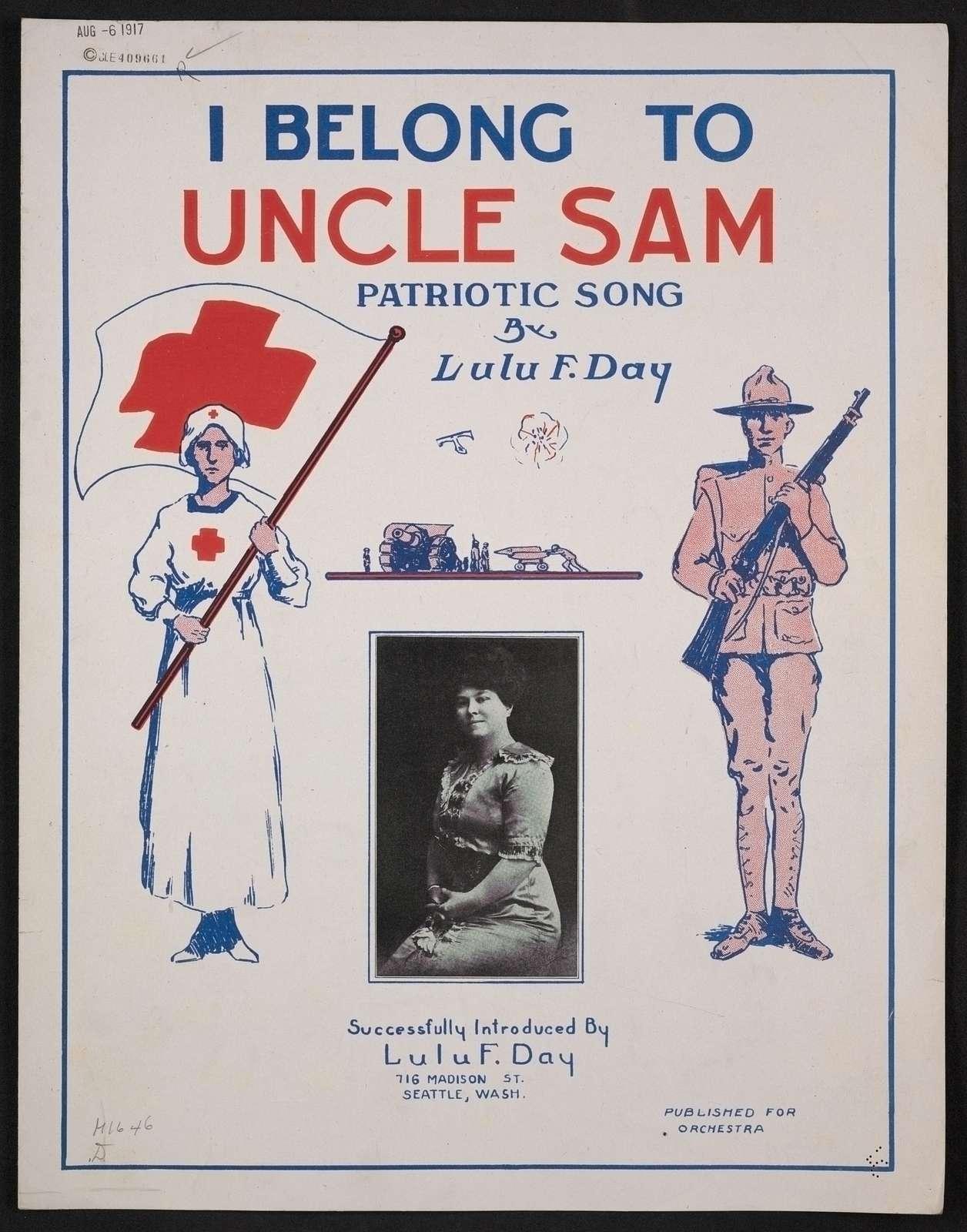 I belong to Uncle Sam patriotic song