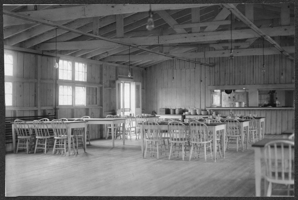 Interior dining room D.C. prison