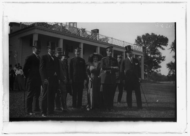 ITALIAN COMMISSION TO U.S. COMMISSION AT MOUNT VERNON