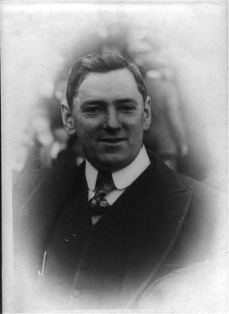 [James Michael Curley, 1874-1958, head and shoulders portrait, facing slightly right]