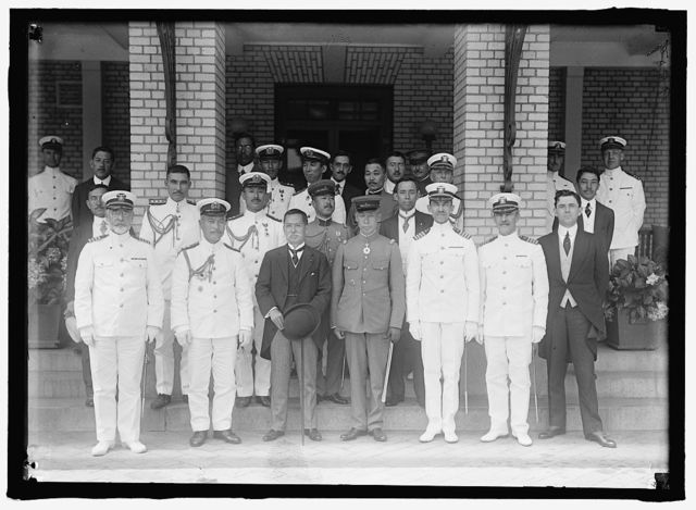 JAPANESE MISSION TO U.S. VISIT TO NAVAL ACADEMY