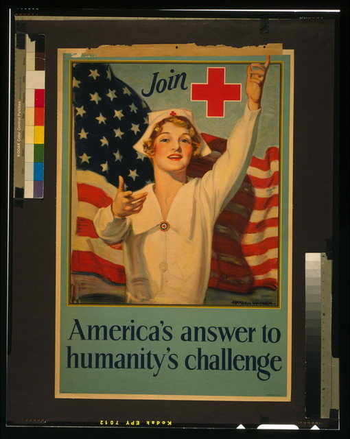 Join [Red Cross symbol] - America's answer to humanity's challenge / Hayden Hayden ; Snyder & Black Inc. N.Y.