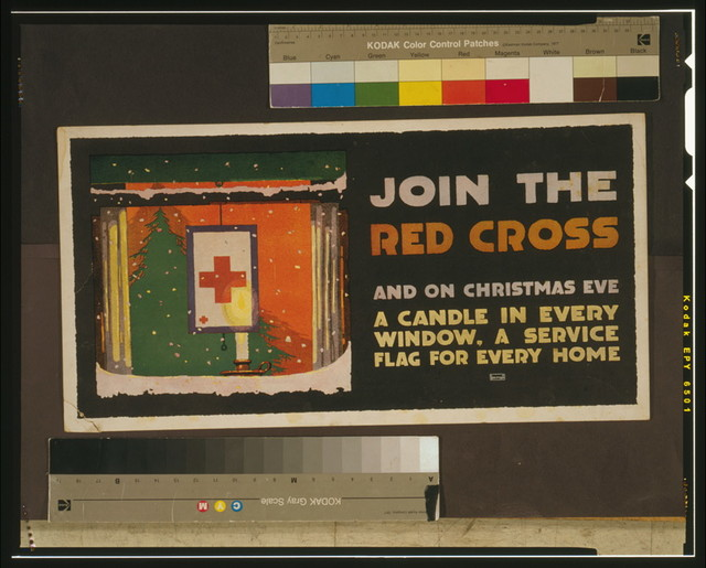 Join the Red Cross and on Christmas eve a candle in every window, a service flag for every home / LN Britton.