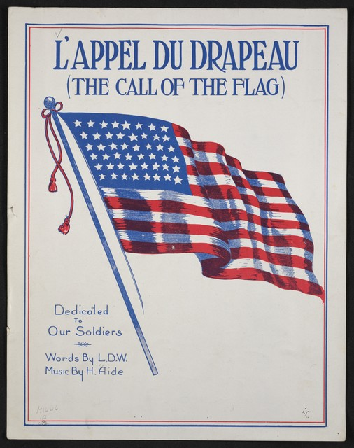 L' appel du drapeau = The call of the flag