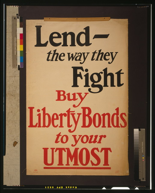 Lend - the way they fight--Buy Liberty bonds to your utmost / Lutz & Sheinkman Litho., New York.