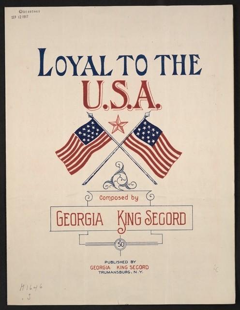 Loyal to the USA