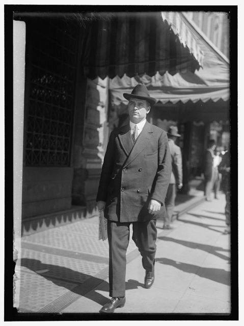 MAHAFFIE, CHARLES DELAHUNT. SOLICITOR, STATE DEPT., 1916 -