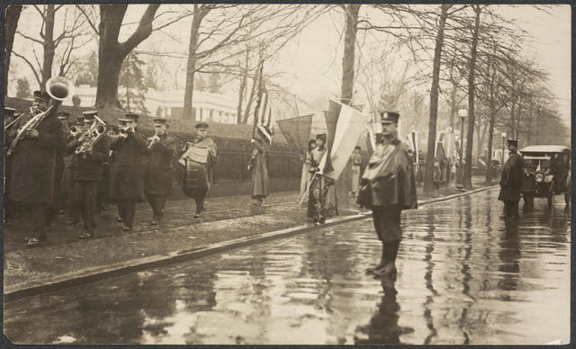 """""""Marching seven times around the walls of Jericho"""" Mar. 4, 1917"""