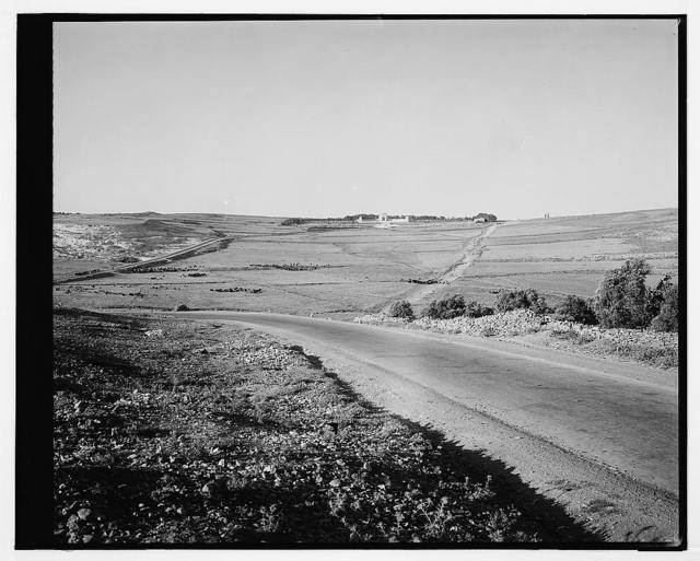 Military Cemetery on Mt. Scopus, Jerusalem