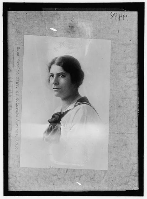 Miss Natalie Gray, of Colorado Springs, Colo.