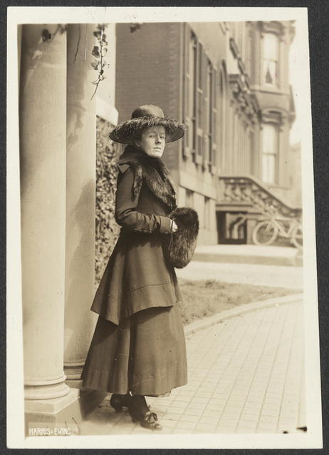 Miss Sallie W. Hovey, Chairman, New Hampshire National Woman's Party.  Just returned from Washington where she has been lobbying recalcitrant Senators form the New England States.
