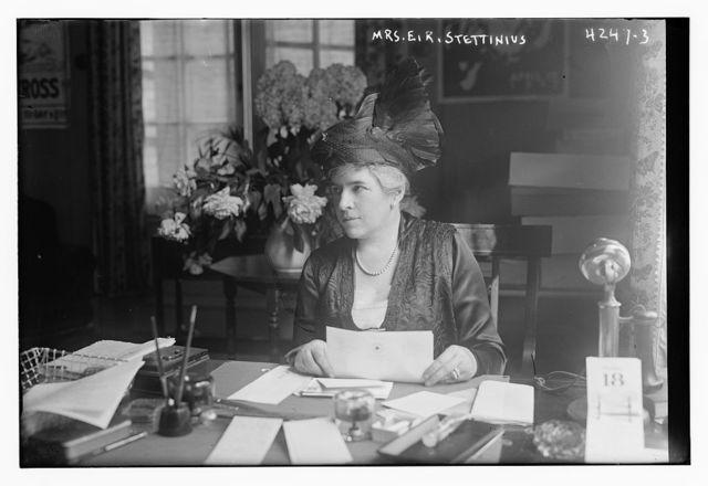 Mrs. E.R. Stettinius