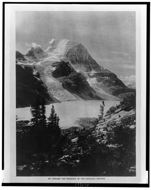 Mt. Robson - the monarch of the Canadian Rockies