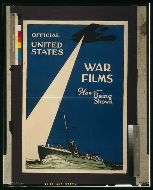 Official United States war films now being shown / The Hegeman Print N.Y.