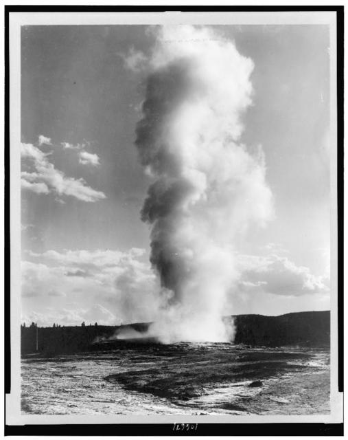 [Old Faithful Geyser, Yellowstone National Park, Wyoming]