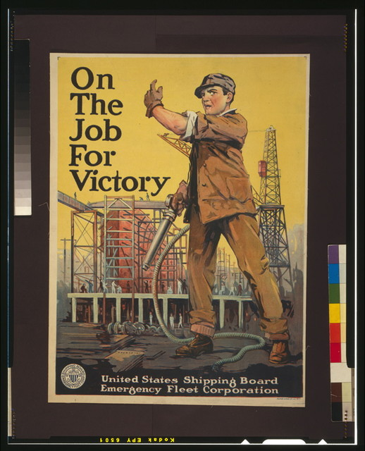 On the job for victory / Alpha Litho. Co. Inc., N.Y.