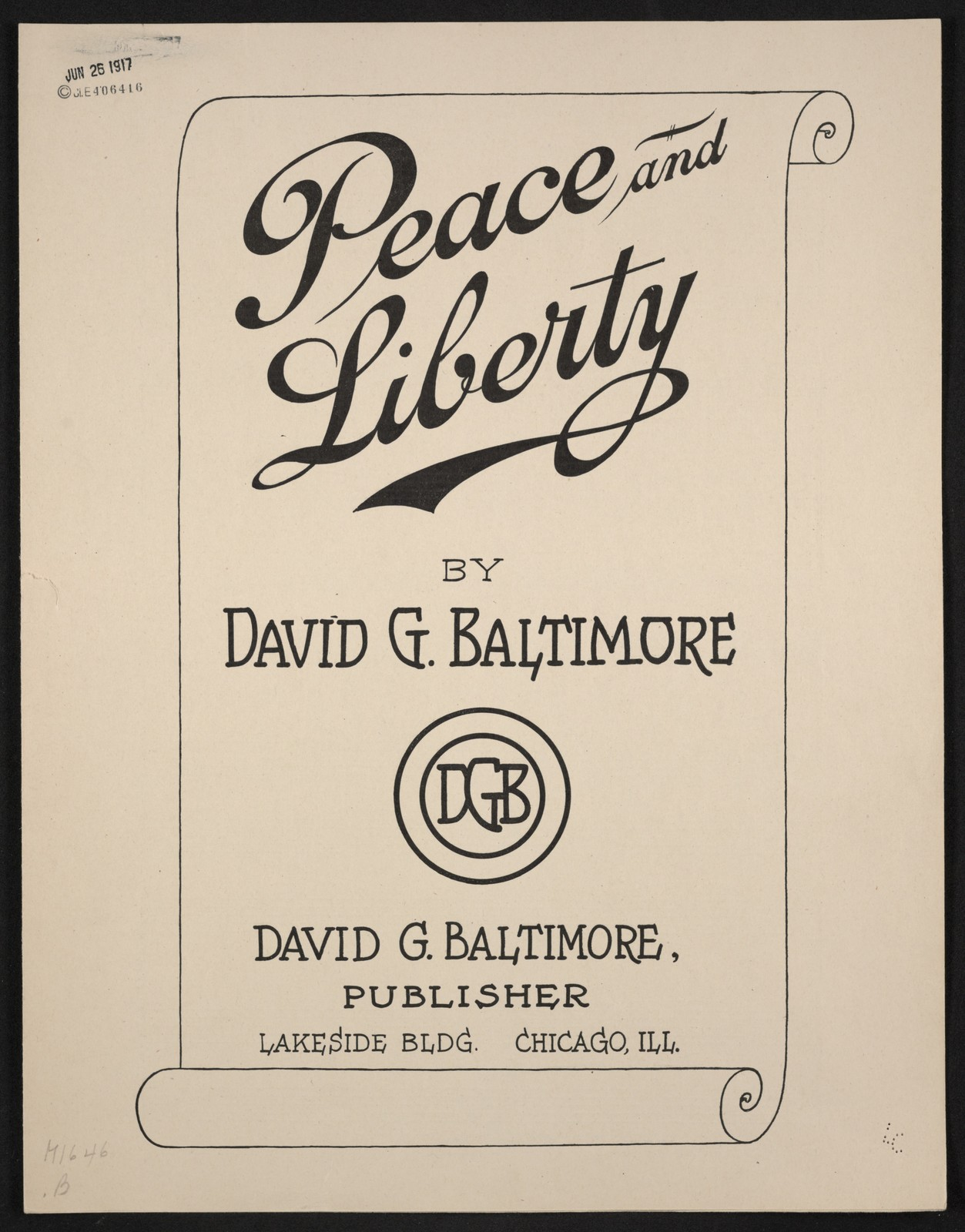 Peace and Liberty