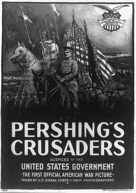 Pershing's crusaders--Auspices of the United States government / The H.C. Miner Litho. Co. N.Y.