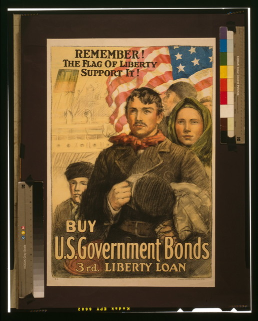 Remember! The flag of liberty--Support it! Buy U.S. government bonds, 3rd Liberty Loan / / Heywood Strasser & Voigt Litho. Co., N.Y.