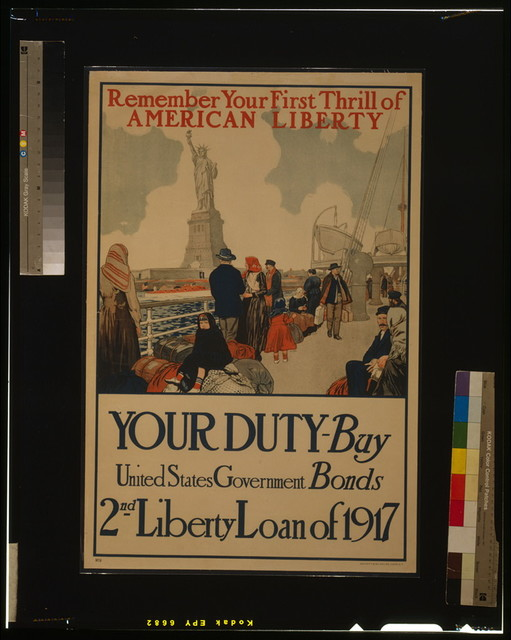 Remember your first thrill of American liberty Your duty - Buy United States government bonds--2nd Liberty Loan of 1917 / / Sackett & Wilhelms Corp. N.Y.