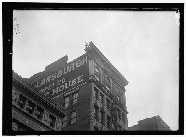 REYNOLDS, J., PERFORMING ACROBATIC AND BALANCING ACTS ON HIGH CORNICE ABOVE 9TH STREET, N.W.