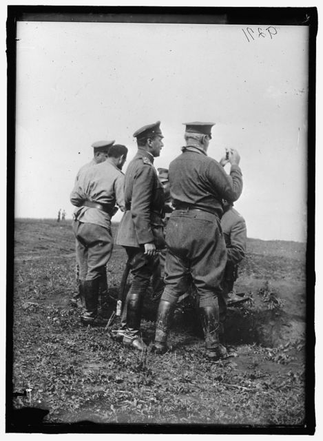 RUSSIA WAR PICTURES. GENERAL SCOTT ON EASTERN FRONT