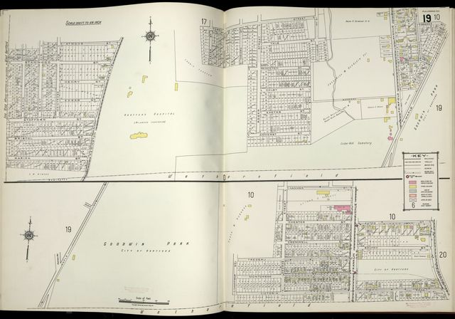 Sanborn Fire Insurance Map from Hartford, Hartford County, Connecticut.