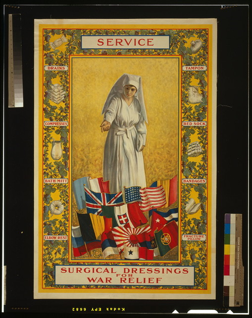 Service - Surgical dressings for war relief / Thomas Tryon.