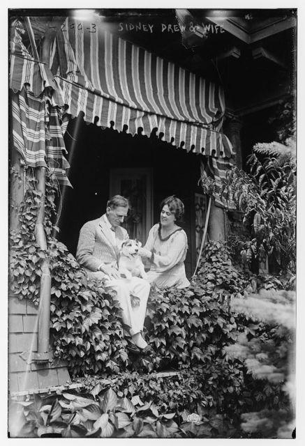 Sidney Drew & wife