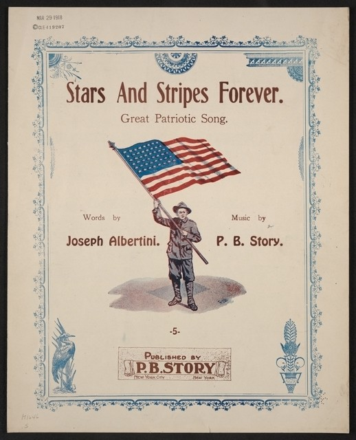 Stars and stripes forever patriotic song