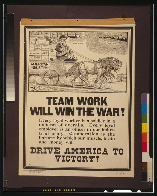 Team work will win the war! / Phifer ; Industrial Conservation, N.Y.