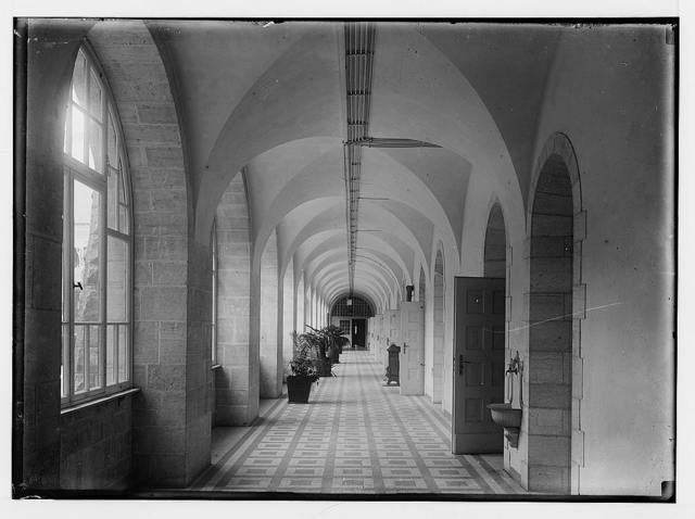 The Government House on Olivet. The corridor.