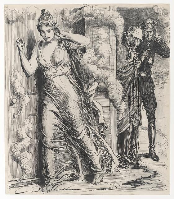 The Liberty loan at everyman's door / C. D. Gibson.