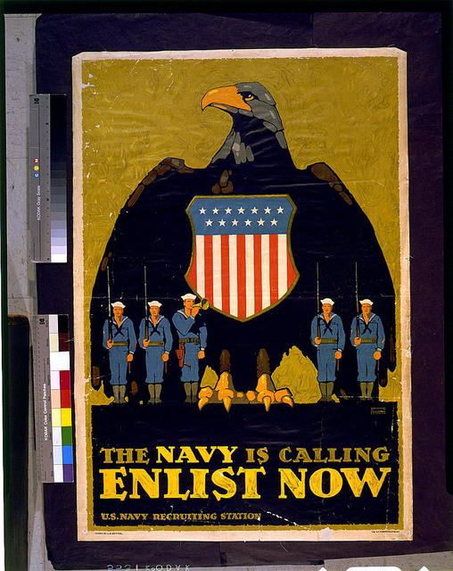 The Navy is calling--Enlist now / L.N. Britton.