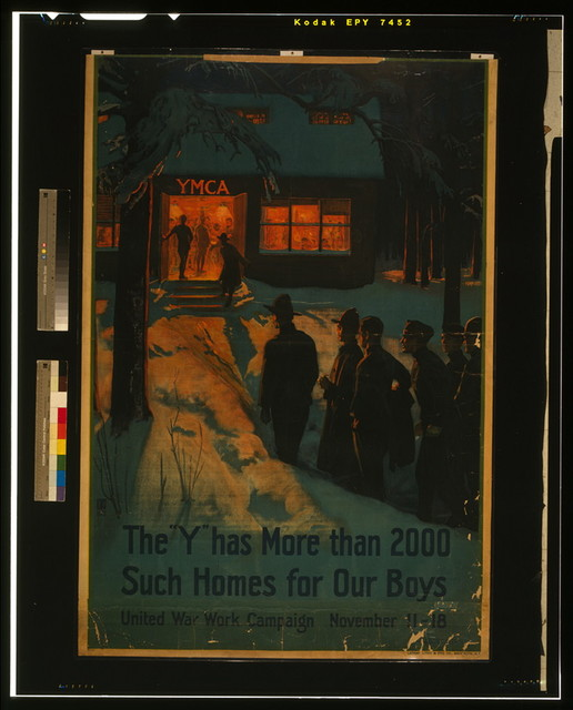 "The ""Y"" has more than 2000 such homes for our boys--United War Work Campaign, November 11-18 / Albert Herter."