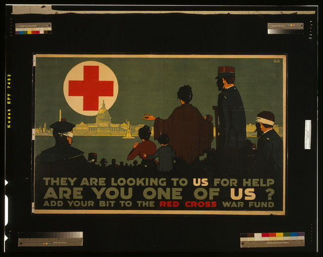 They are looking to us for help - Are you one of us? Add your bit to the Red Cross War Fund / L. N. Britton.