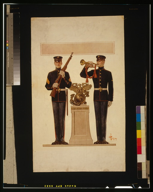 [Two Marines] / J.C. Leyendecker.